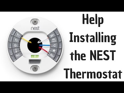 Help Installing The Nest Thermostat Youtube