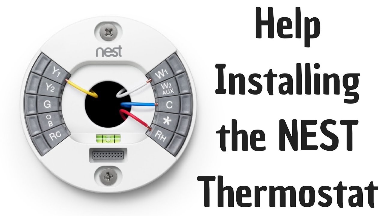 help installing the nest thermostat [ 1280 x 720 Pixel ]