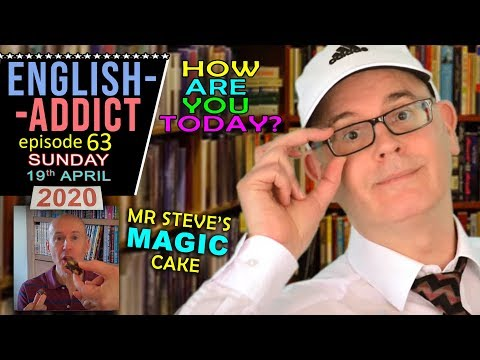 ENGLISH ADDICT (63) - LIVE from England - Sunday 19th April 2020 / Mr Duncan in England