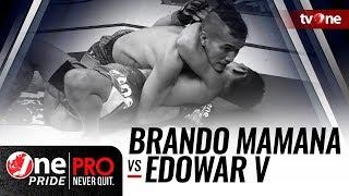 [HD] One Pride MMA 3: Brando Mamana VS Edowar Viranda - StrawWeight Semifinal