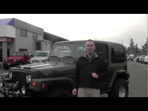 Virtual tour of a 1999 Jeep Wrangler Sahara at Milam Mazda in Puyallup