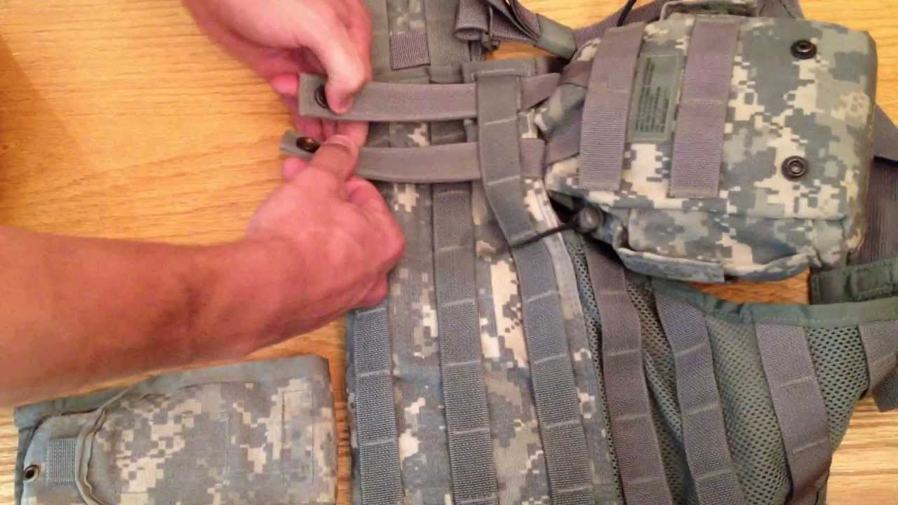 How to Attach Molle Pouches to a Tactical Vest The Right ...