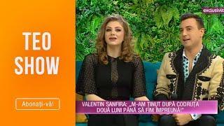 Teo Show (26.04.2019) - Valentin Sanfira si Codruta Filip se casatoresc! S-au cunoscut la ...