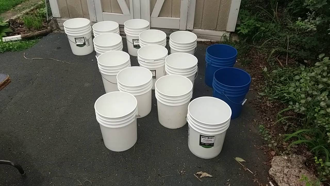 Free 5 Gallon Buckets