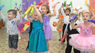 Смешной детский танец сюрприз Зажигательный танец Детский сад №20 Утренник Веселый танец