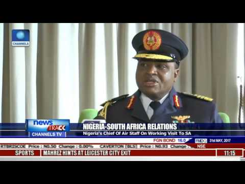 Nigeria's Chief Of Air Staff In S/Africa On Working Visit