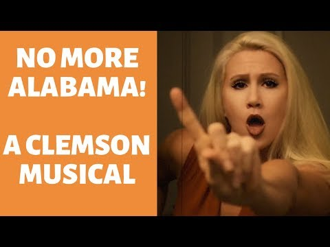 """NO MORE ALABAMA"" A Musical Recap of Clemson's Win over Alabama"
