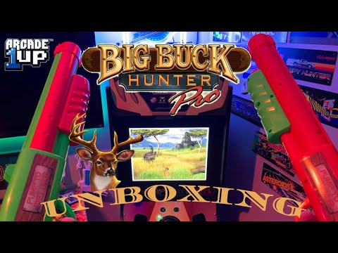 Arcade 1up Big Buck Hunter pro unboxing! from Reubens Lair