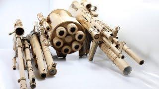 Next Level Electricity Free DIY Cardboard Gun