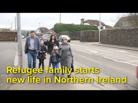 From Lebanon to the UK, a new start for refugee family