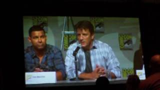 Comic Con 2010 - Castle Panel 5 of 7