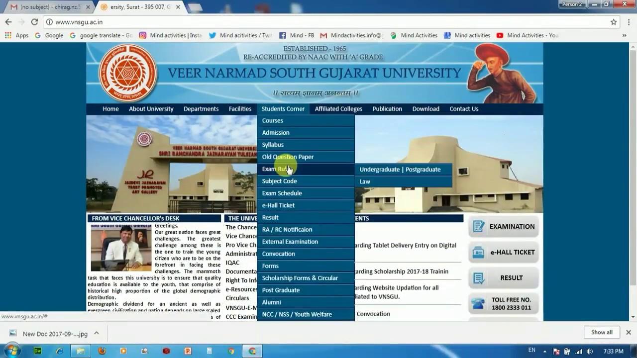 Vnsgu Bsc Degree Certificate - Exam Form Of Vnsgu 2020 ...
