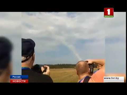 В Подмосковье во время авиашоу разбился самолет