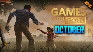 Xbox Live Games With Gold For October Revealed!