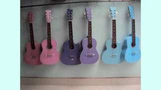 đàn guitar nhỏ cực đẹp tại nụ hồng gò vấp