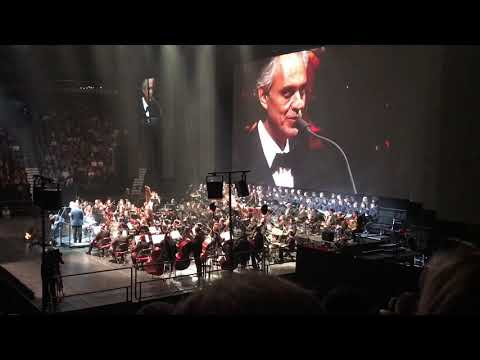 Andrea Bocelli Montreal 2018  Fall on me