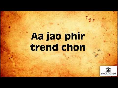 Trending Nakhra (Lyrics) – Amrit Maan & Ginni Kapoor | New Punjabi Song
