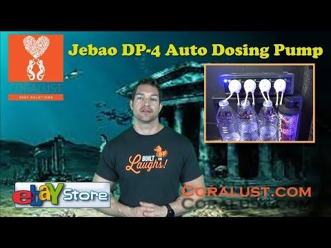 Jebao DP-4 Auto Dosing Pump