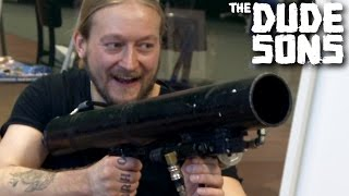 1000 THUMBTACK CANNON CHALLENGE - Stunt - The Dudesons