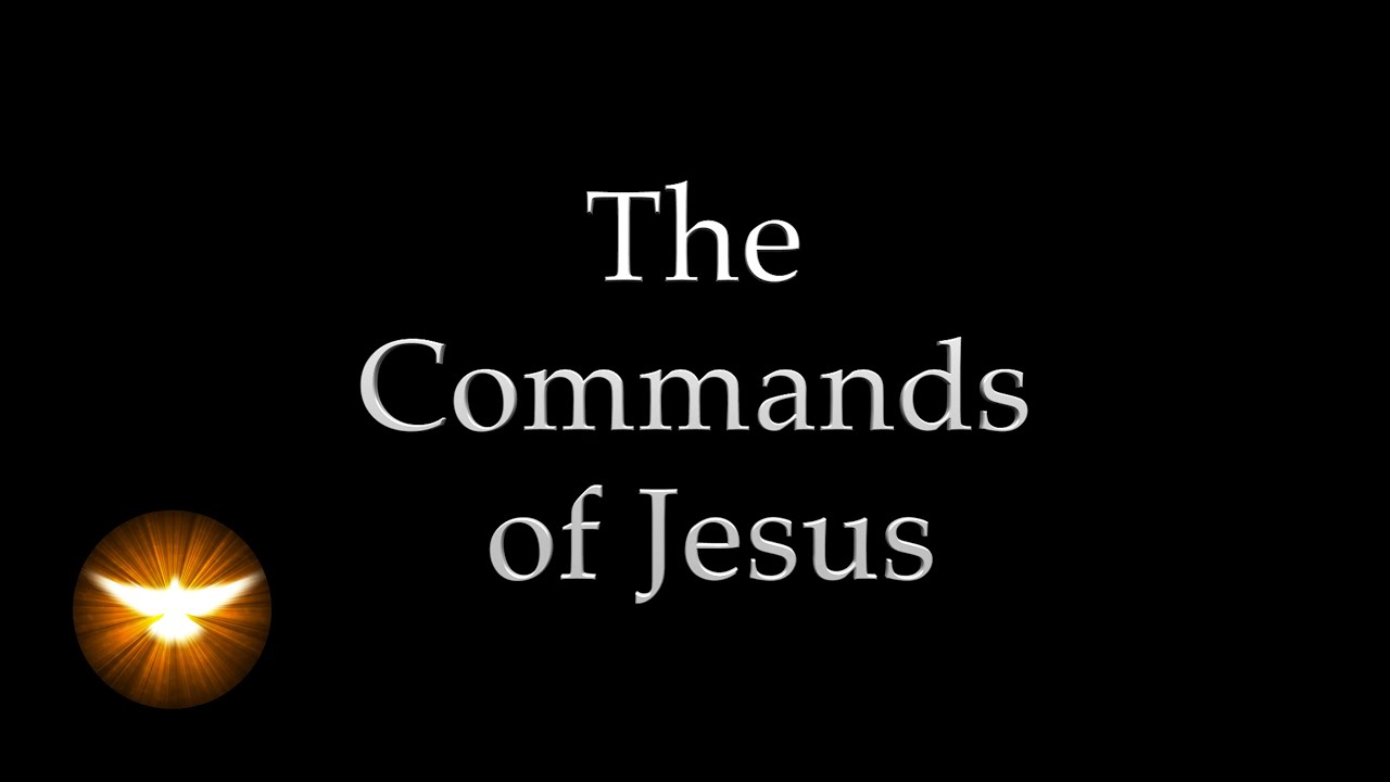 "Download ""These things I command you"" Jesus' own words from the 4 Gospels"