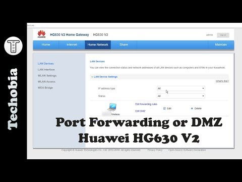 Download How To Port Forward Dmz For Local Servers In Huawei Hg630
