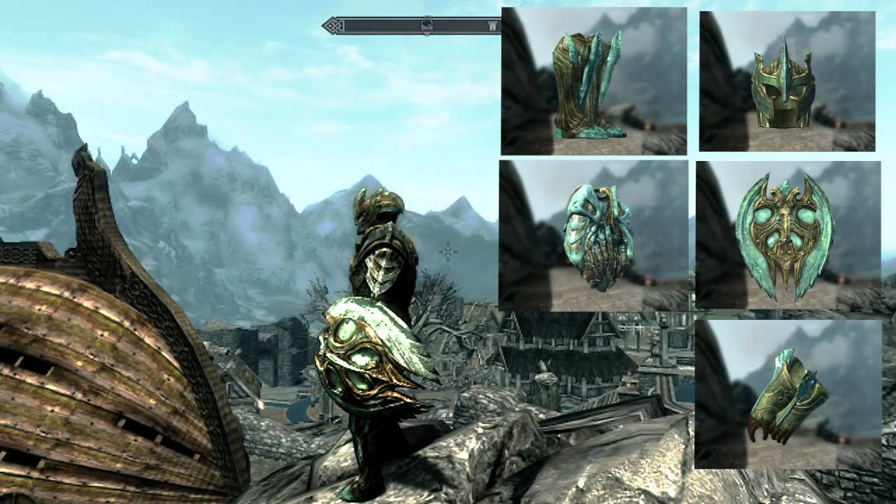 Female Armor Skyrim Glass