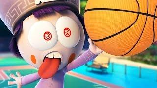 Funny Animated Cartoon | Spookiz Slam Dunk Challenge 스푸키즈 | Cartoon for Children
