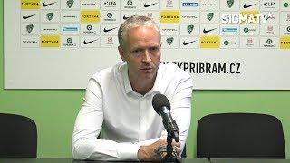 Trenér Jílek po utkání s týmem 1. FK Příbram