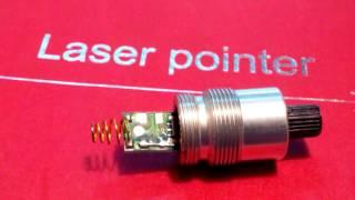 Ремонт зелёного лазера.Repair Laser pointer JD-851