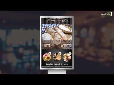 Digital Promotion ร้าน Bakery & Cake - SignMate.co