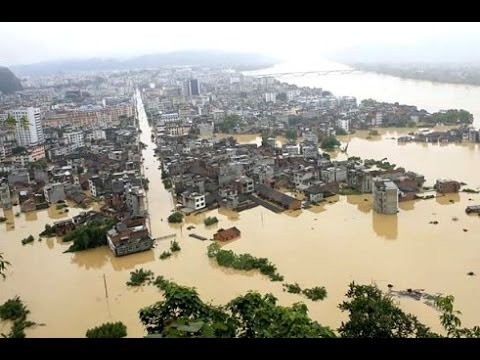 2016 Webbot Prediction of Immense Continental Floods: China a Perfect Match, 300 Million Evacuate