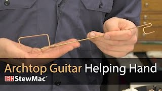 Archtop Guitar Helping Hand