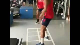 dani alves and lucas in PSG funny video