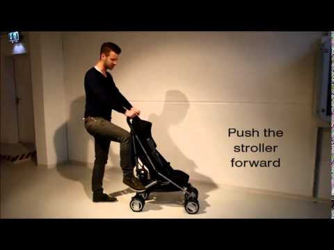 CYBEX Tutorial: How To Fold & Unfold A Stroller