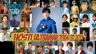 NAMA HOST ULTRAMAN 1966 TO 2019
