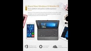 Cube WP10 Test en Français avec Windows 10 mobile