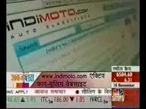 Indimoto.com Carpool Press Coverage on CNBC Awaaz (Hindi)