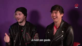 5SOS Funniest Interview Moments March-April 2018 (part 2)