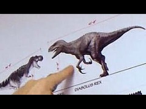 Jurassic World The Diabolus-Rex Was Real!!! - YouTube