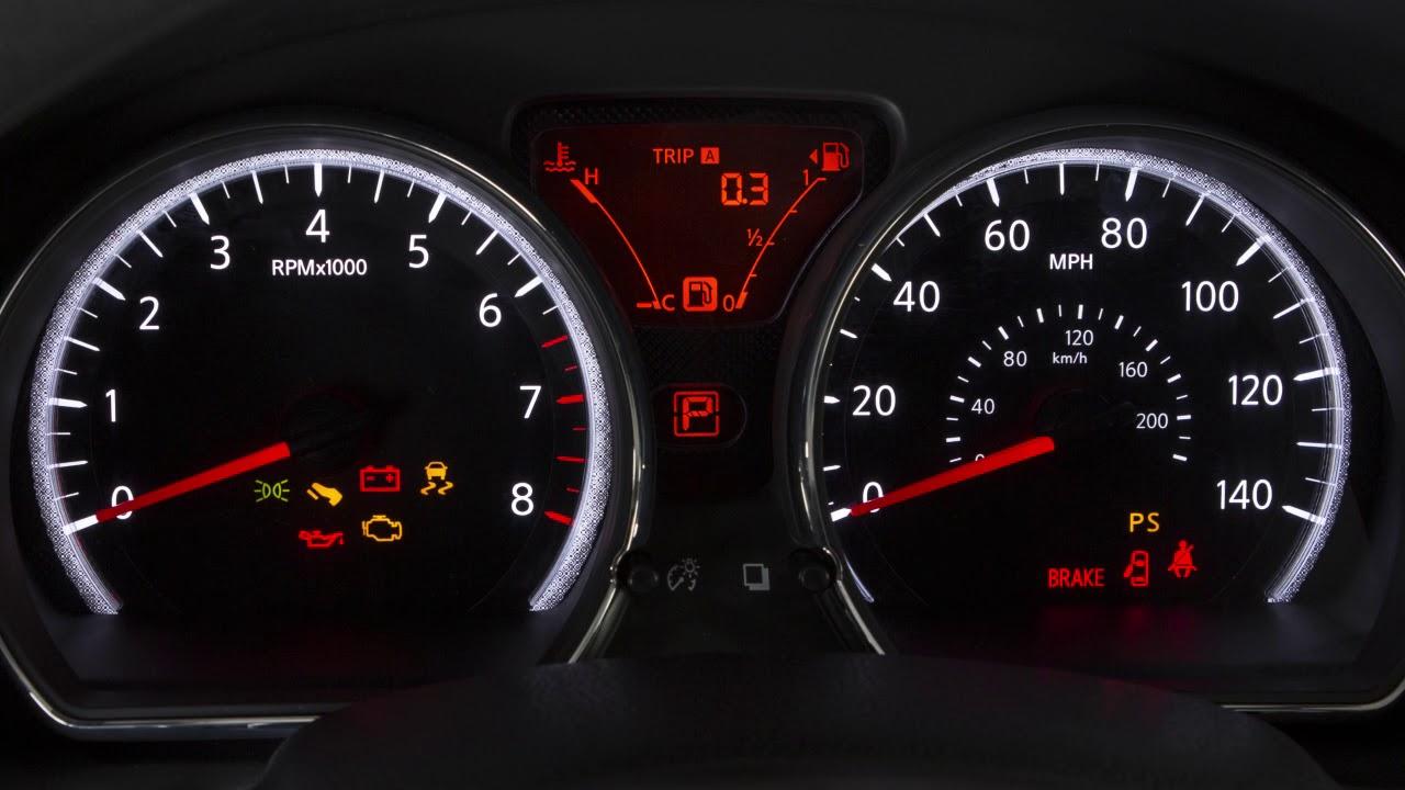 nissan versa dashboard lights not working