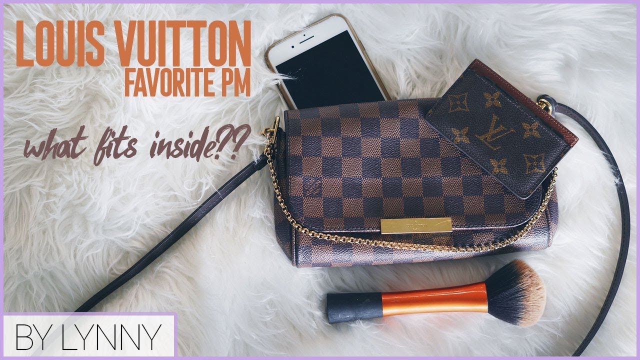 20566926f16 Louis Vuitton Favorite PM Cross Body   What Fits Inside  - YouTube