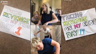 Mom's prank revenge: Taking revenge on my kids compilation Day 1-19 TIKTOK