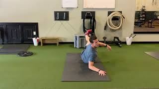 Building a Strong Core with the Ends of the Frog Roll