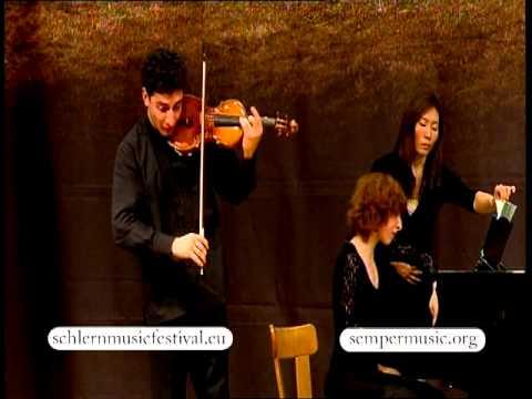 2012 Schlern Music Festival - Sergey & Lusine Khachatryan - Piazzolla: Café 1930