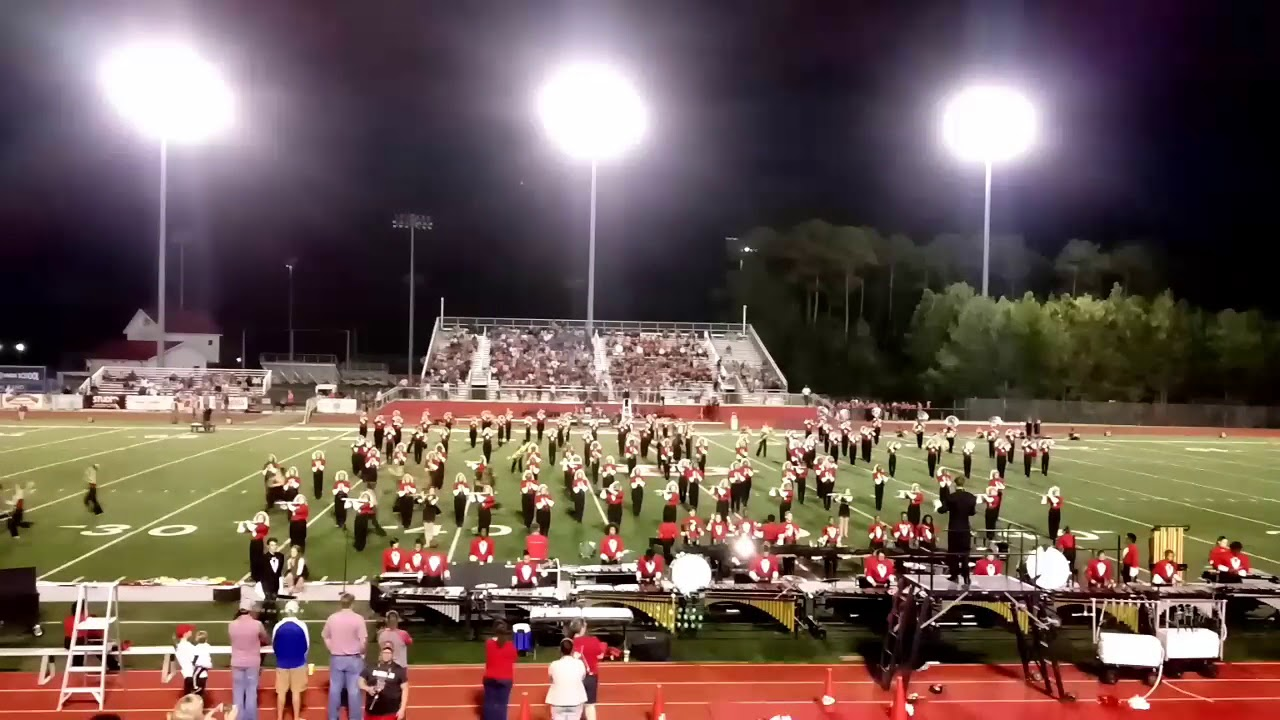 Biloxi High Marching Band Show Performance 2017 Youtube