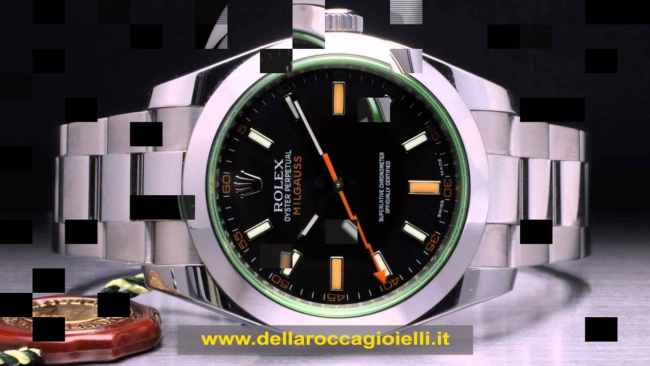 a3de3becc92 Milgauss Rolex Milgauss prezzi Rolex Milgauss Costo Usati Rolex Milgauss  Vetro Verde