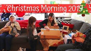 CHRISTMAS MORNING 2019 // What I Got for Christmas // Family Christmas