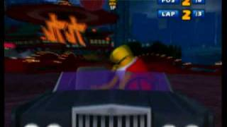 Sonic & SEGA All-Stars Racing (Wii) - All-Star Moves Montage
