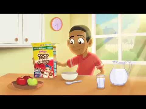 Kellogg Coco Pops Rock Gear Stickers - TV Commercial