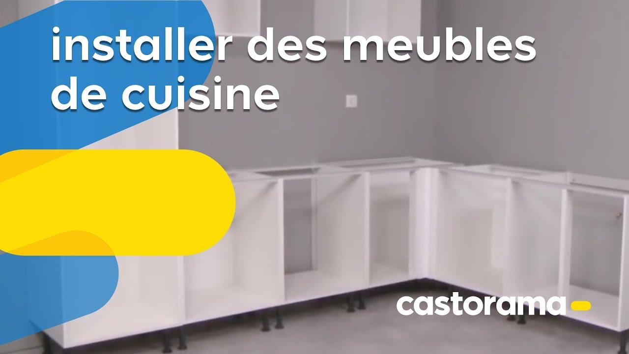 Installer des meubles de cuisine (Castorama)